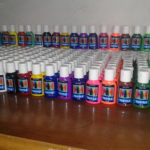 MM Textile Paint for Painting Fabrics, T-shirts, Veils, Shirts, Shoes, Canvas, Denim, Hijab, Bags, etc.