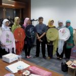 Veil Painting Course at Bank Indonesia Keeps It Excited