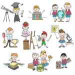 Let's develop the talents and hobbies of our children